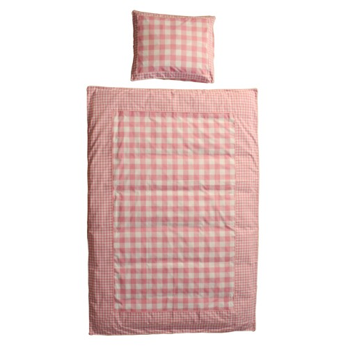 VICHY PINK DUVET COVER