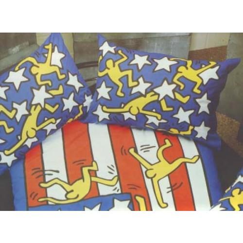 Keith Haring dekbedovertrek
