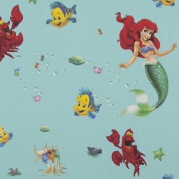 Disney Princess The Little Mermaid Fabric SIRENA.45.140