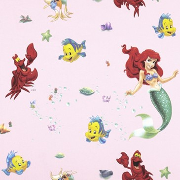 Disney Princess The Little Mermaid Fabric SIRENA.33.140