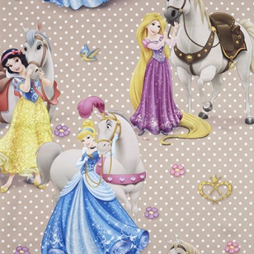 Disney Princess Fabric SUNCAVAL.13.150