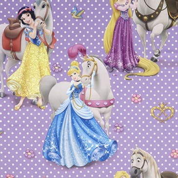 Disney Princess Fabric SUNCAVAL.35.150