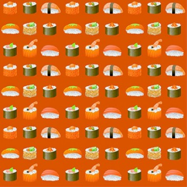 KidsFabrics Fabric DIGSUSHI.30.140