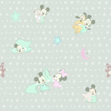 Disney Mickey Mouse Minnie Mouse Fabric DIGSNUGLE.53.140