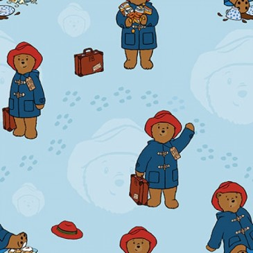 Paddington Bear Fabric DIGTRAVEL.38.140