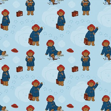 Paddington Bear Fabric DIGTRAVCO.38.140