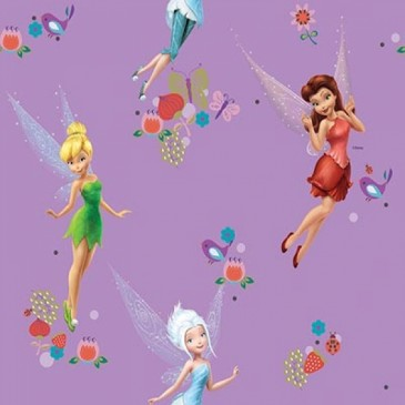Disney Tinkerbell Fabric ELVES.35.140