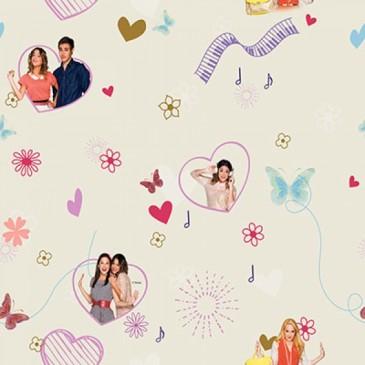Disney Violetta Fabric VIOLETTA.11.140