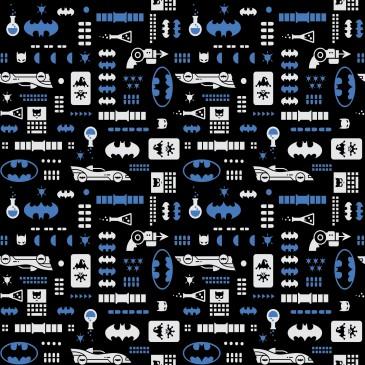 Batman Warner Bros Fabric ALLBAT.600.140