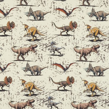 Jurassic World Universal Fabric BATTLE.130.140