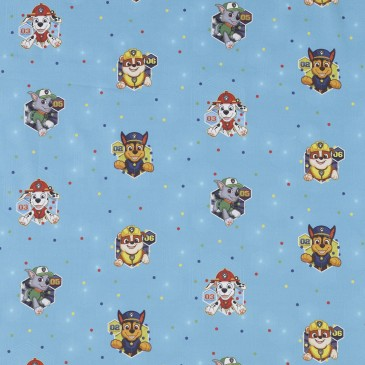 Nickelodeon Paw Patrol Fabric CHASE.400.140