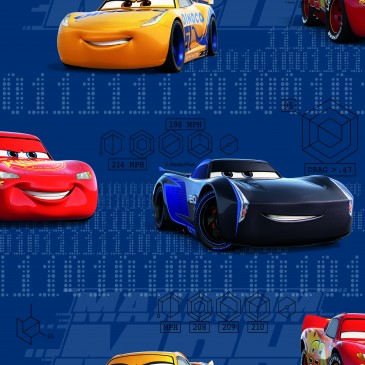 Cars Disney Fabric FANS.40.140