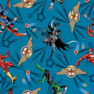 Batman DC Comics Superman Warner Bros Fabric FREDDO.400.140