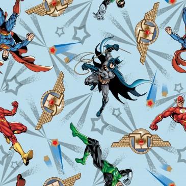 Batman DC Comics Superman Warner Bros Fabric FREDDO.380.140