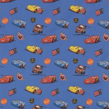 Cars Disney Fabric RAMIREZ.40.140