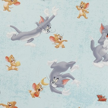 Tom & Jerry Warner Bros Fabric RATON.38.140