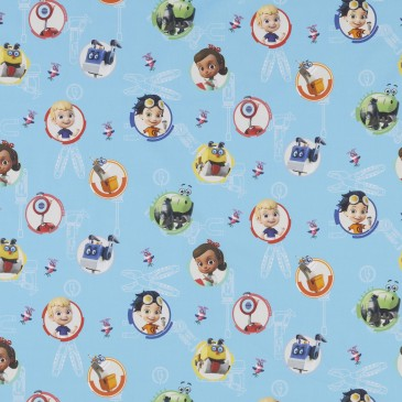 Nickelodeon Rusty Rivets Fabric RUSTY.400.140