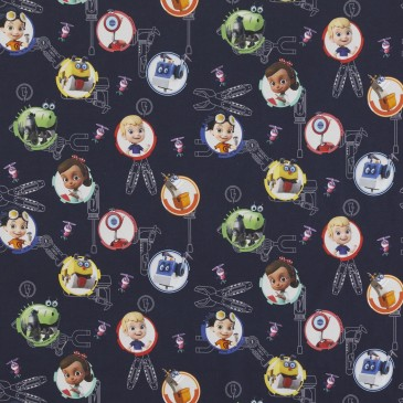 Nickelodeon Rusty Rivets Fabric RUSTY.420.140