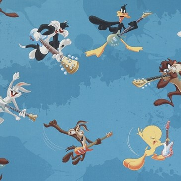 Looney Tunes Warner Bros Fabric SHOW.40.140