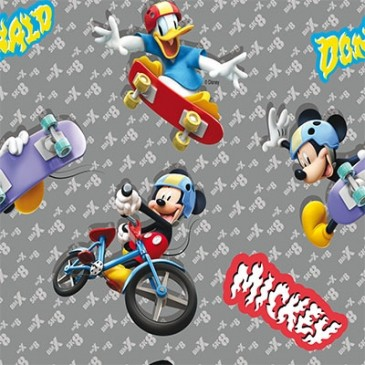 Disney Donald Duck Mickey Mouse Fabric SUNMASH.55.150