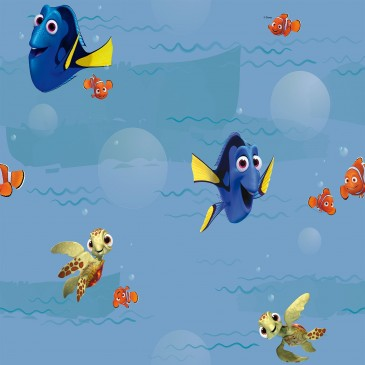 Disney Finding Dory Fabric SUNSWIME..40.150